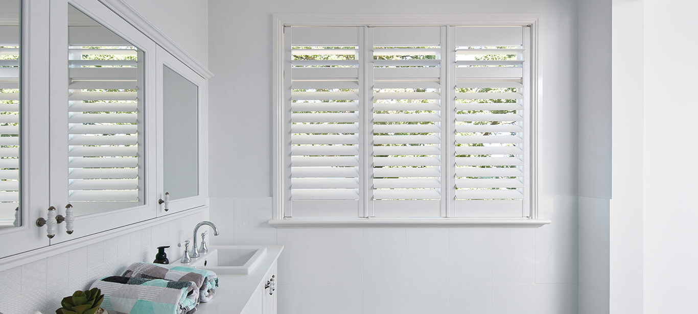 Luxaflex - Products - Shutters and Venetians - Timber Shutters Banner image