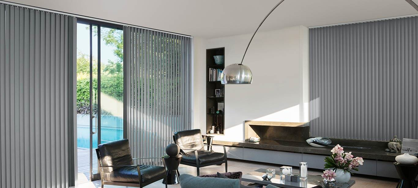 Luxaflex - Products - Softshades and Fabrics - Vertical Blinds Banner image