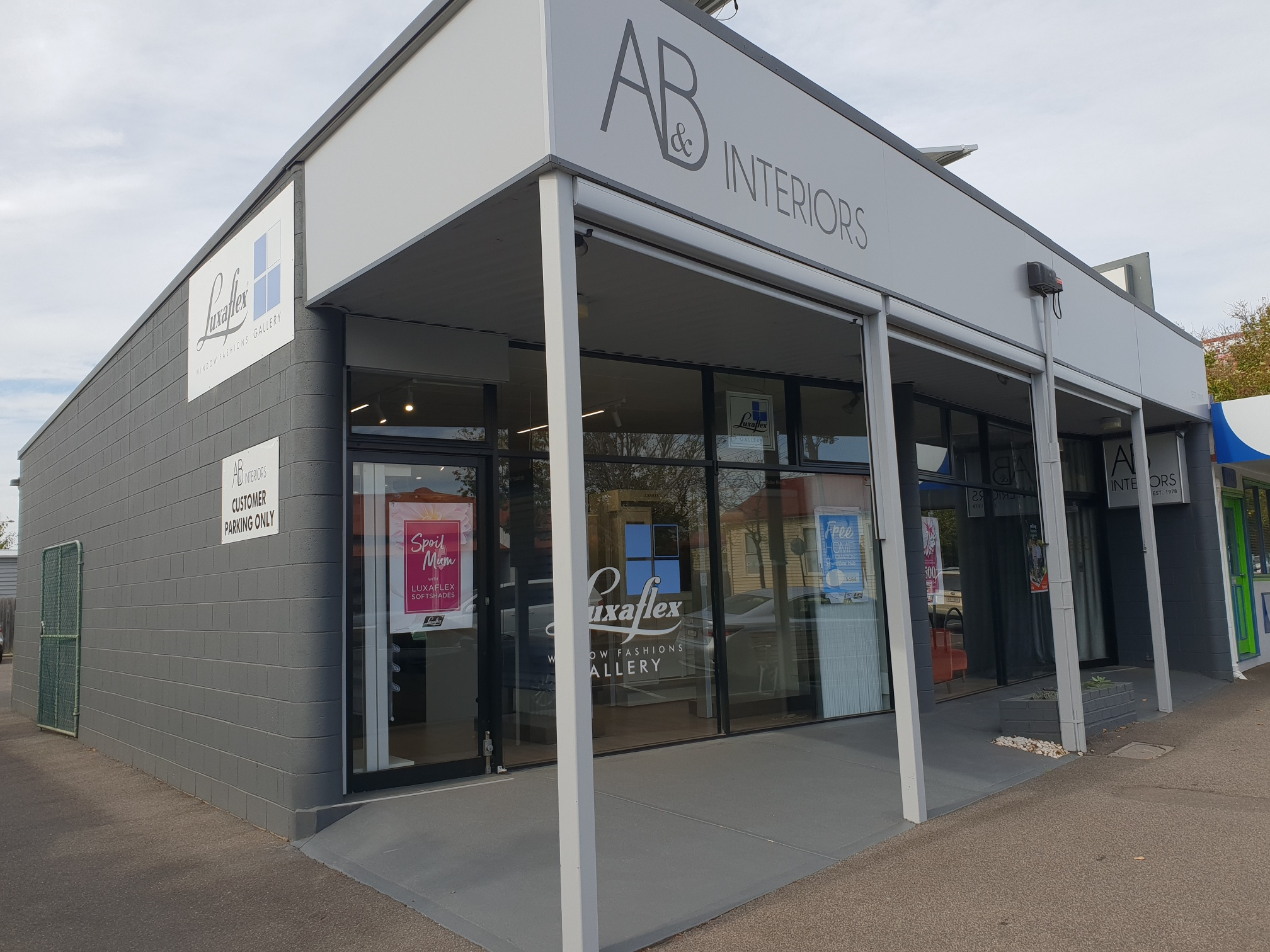 A & B Interiors Gallery Store Front