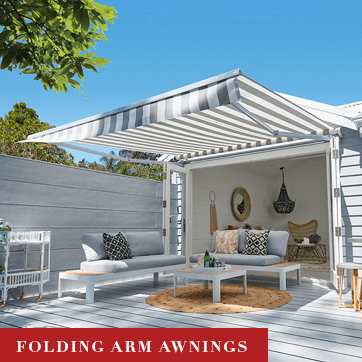 Luxaflex Folding Arm Awnings