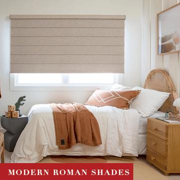 Luxaflex Modern Roman Shades