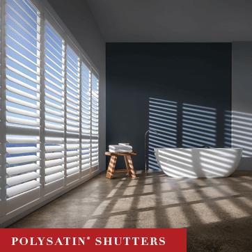 Luxaflex PolySatin Shutters