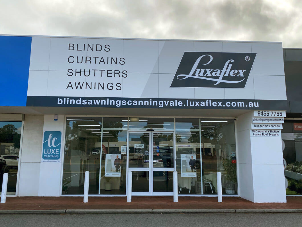 Blinds Awnings Curtains Canning Vale - Shop Front