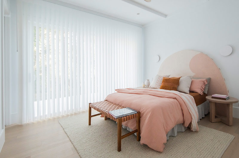 Luxaflex Lumishade works well for rooms with a perfect balance of a structured curtain for a great room darkening effect and