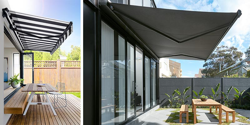 Luxaflex - Blog - Cool Tips for Summer - Folding Arm Awning