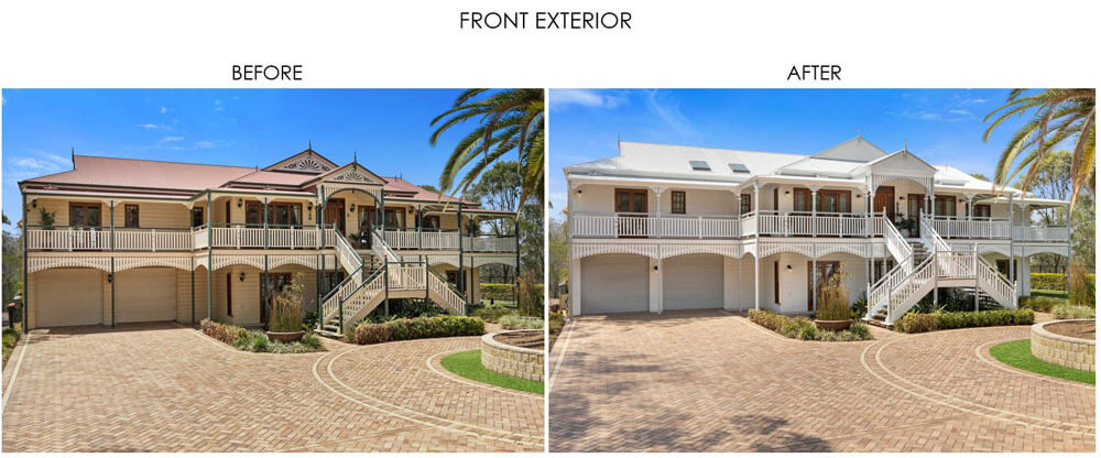 Selling Houses Australia - Season 13, Episode 10, Front Exterior - Before and After