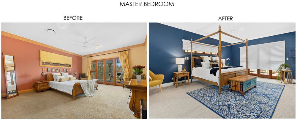 Selling Houses Australia - Season 13, Episode 10, Master Bedroom - Before and After