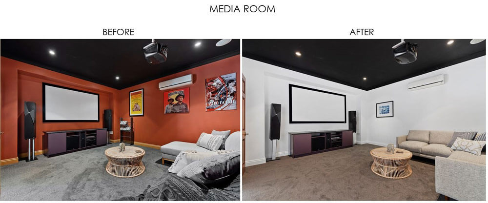 Selling Houses Australia - Season 13, Episode 10, Media Room - Before and After
