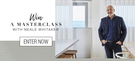 Win a Masterclass with Neale Whitaker - Find out more