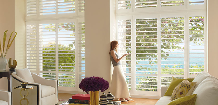 PowerView PolySatin Shutters