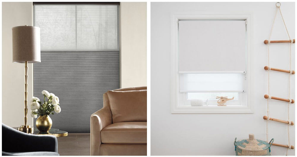 Luxaflex Duette Duo-Lite and Dual Roller Blinds can create the perfect level of privacy and light control.