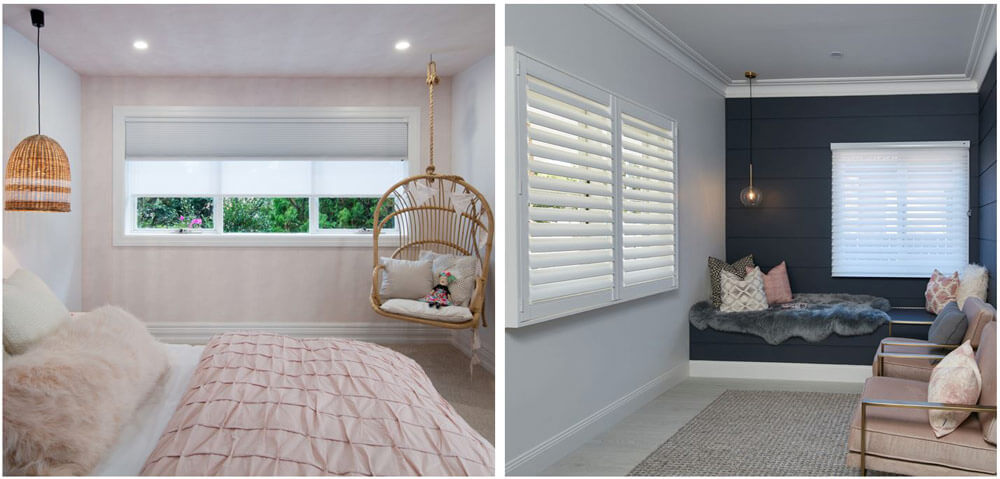Pairing different Luxaflex products together can also achieve the ultimate privacy and light control.