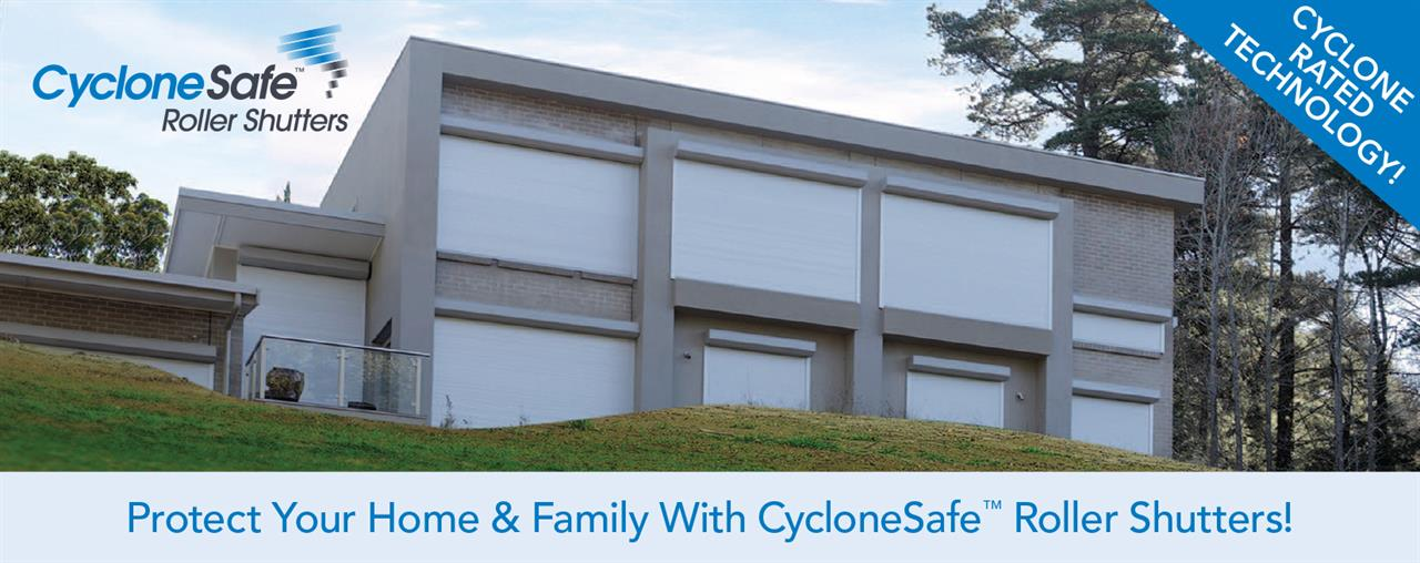 Cyclone Safe Roller Shutters