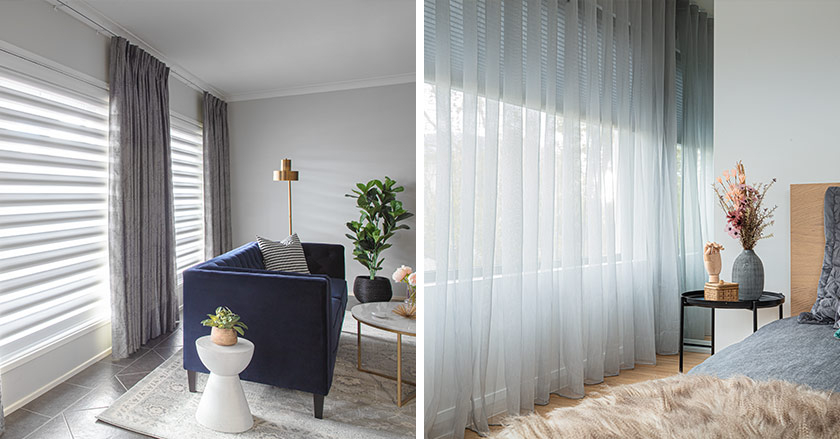 Sheer & Blockout Curtains