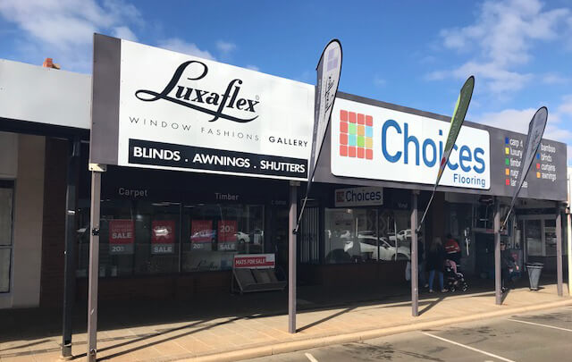 Choices Flooring Kalgoorlie - About Us -Front of Store