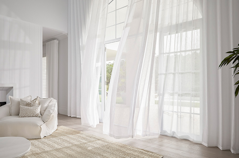 Luxaflex Curtains making the perfect statement piece with breathtaking drops.
