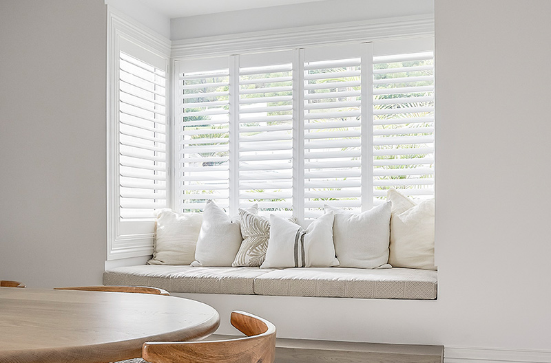 Australian Made, Luxaflex PolySatin Plantation Shutters make for the perfect mix of traditional and modern living.