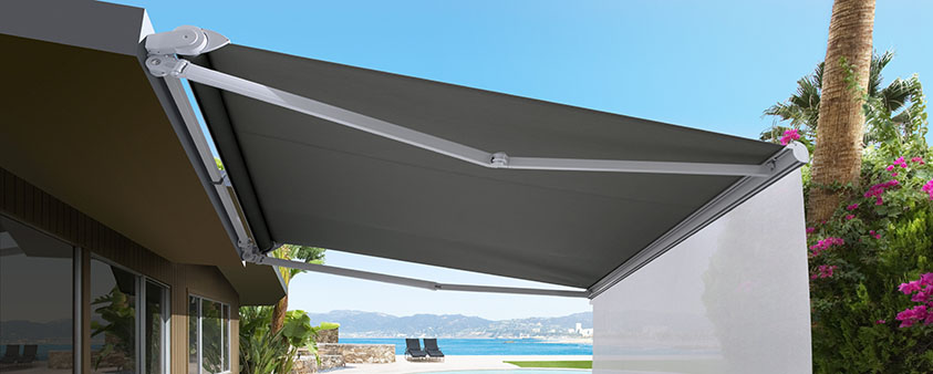 Folding Arm Awnings Sola Shade Osborne Park Luxaflex 174