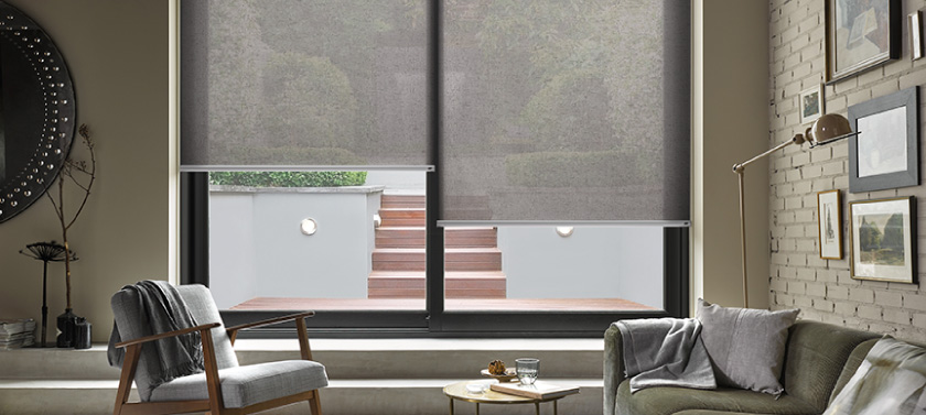 Рулонные шторы открытого типа – практичный декор интерьера