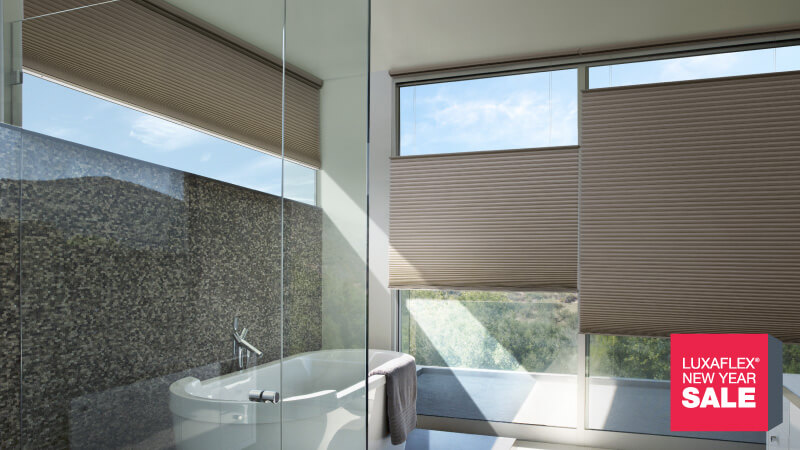 REDUCE YOUR HEATING COSTS WITH DUETTE SHADES
