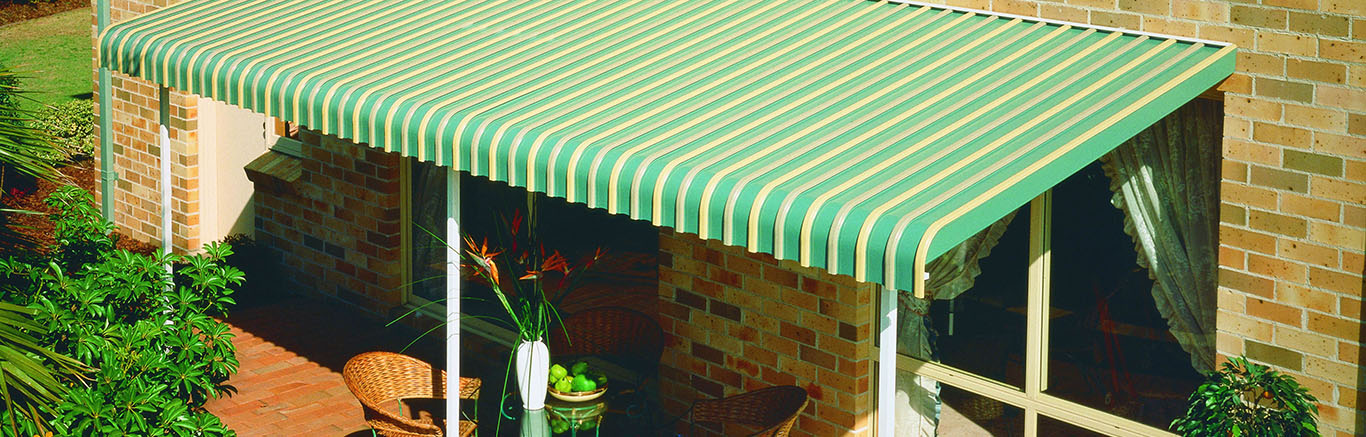 Luxaflex Showcase - Products - External Collection - Fixed Metal Awnings Bottom