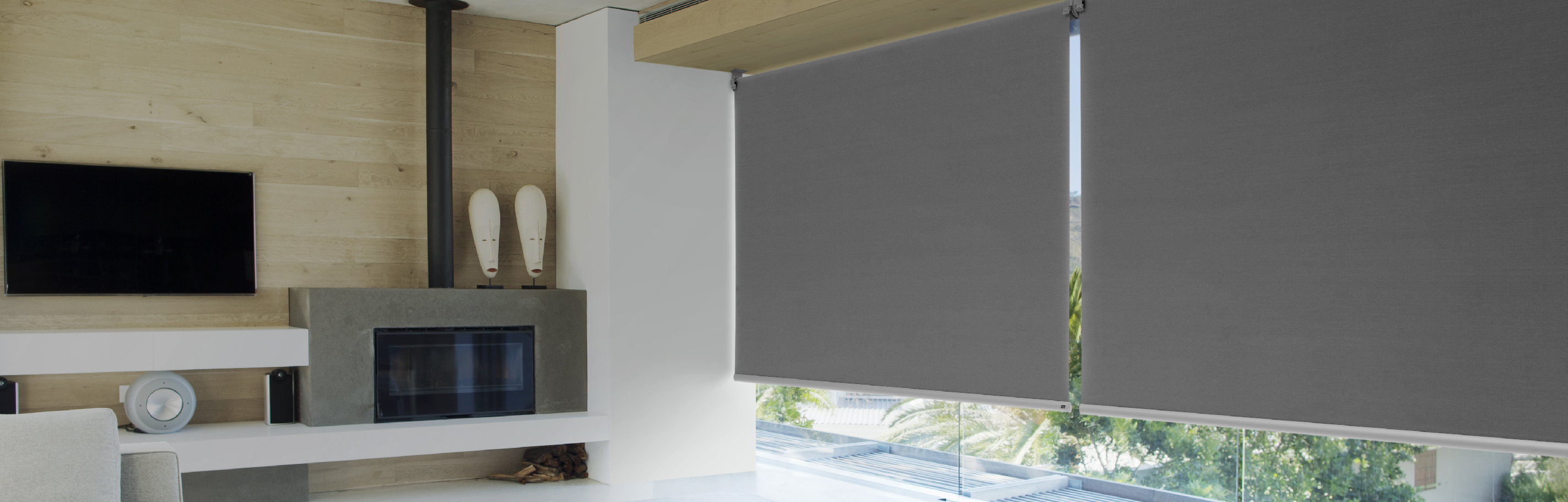 Luxaflex Showcase - Products - Softshades and Fabrics - Roller Blinds Bottom