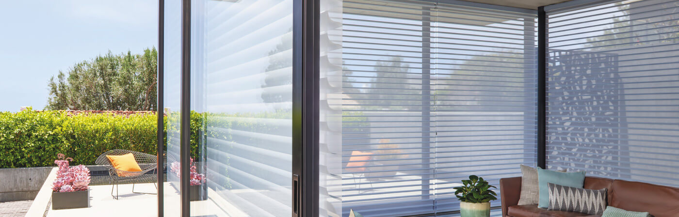 Luxaflex Showcase - Products - Softshades and Fabrics - Silhouette Shadings Bottom